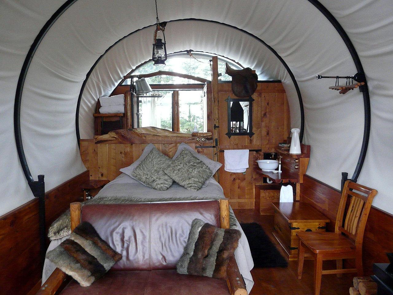 Glamping = Glamour Camping