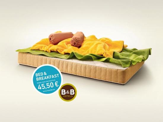 W B&B Hotels wyśpisz się nawet na kanapkach!