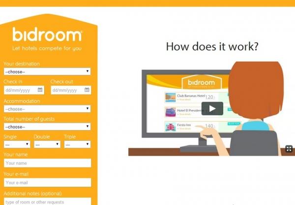 Bidroom – nowa platforma wspomagająca sprzedaż online hotelu.
