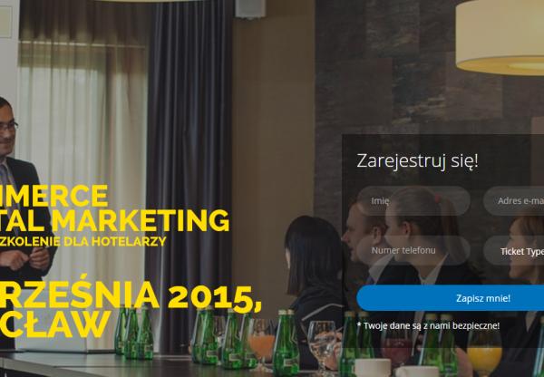 22 września 2015 :: Szkolenie :: E-commerce & Digital Marketing dla hoteli