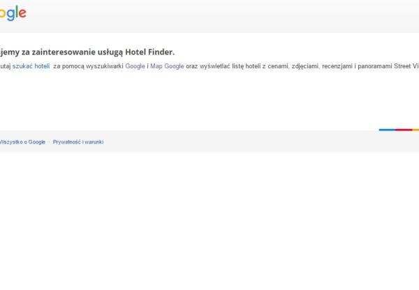 Google wprowadza usługę direct bookings i rezygnuje z Hotel Finder!