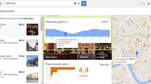 Kolejne, istotne zmiany w prezentacji hoteli w Google